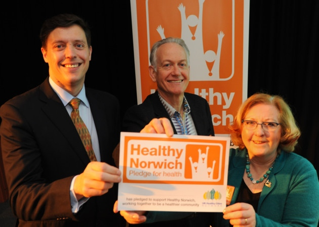 Norwich Joins the Healthy Cities Network